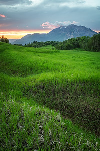 Cascade Meadows Sunset 1