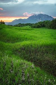 Cascade Meadows Sunset 1