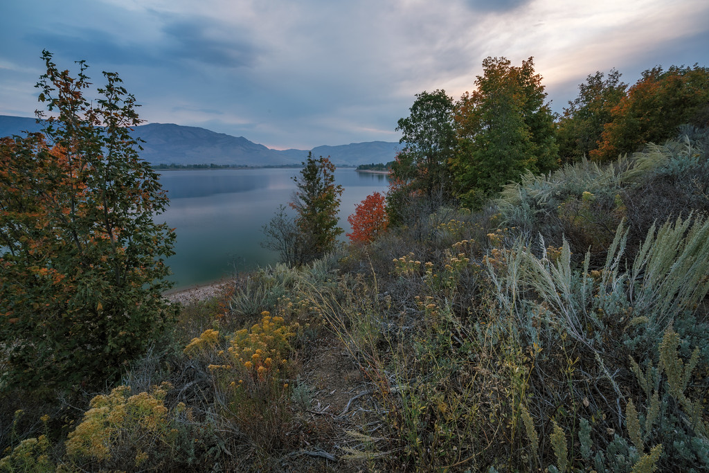 Dawn at Pineview Reservoir