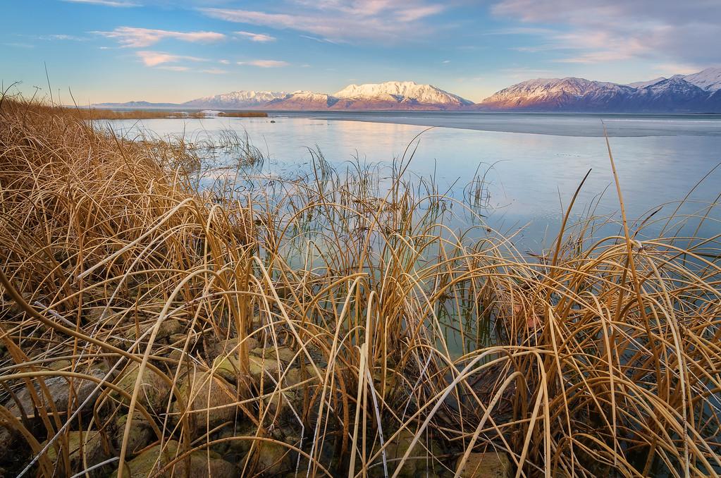 Utah Lake and Timpanogos