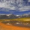 High Sierra Refleced in Alkali Pond
