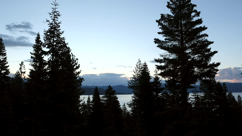 Sunrise on Lake Tahoe