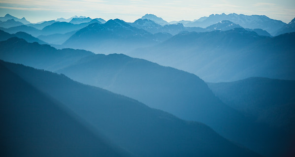 Vancouver Island Mountain Range, British Columbia