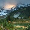 Mount Matier at sunset, Pemberton BC