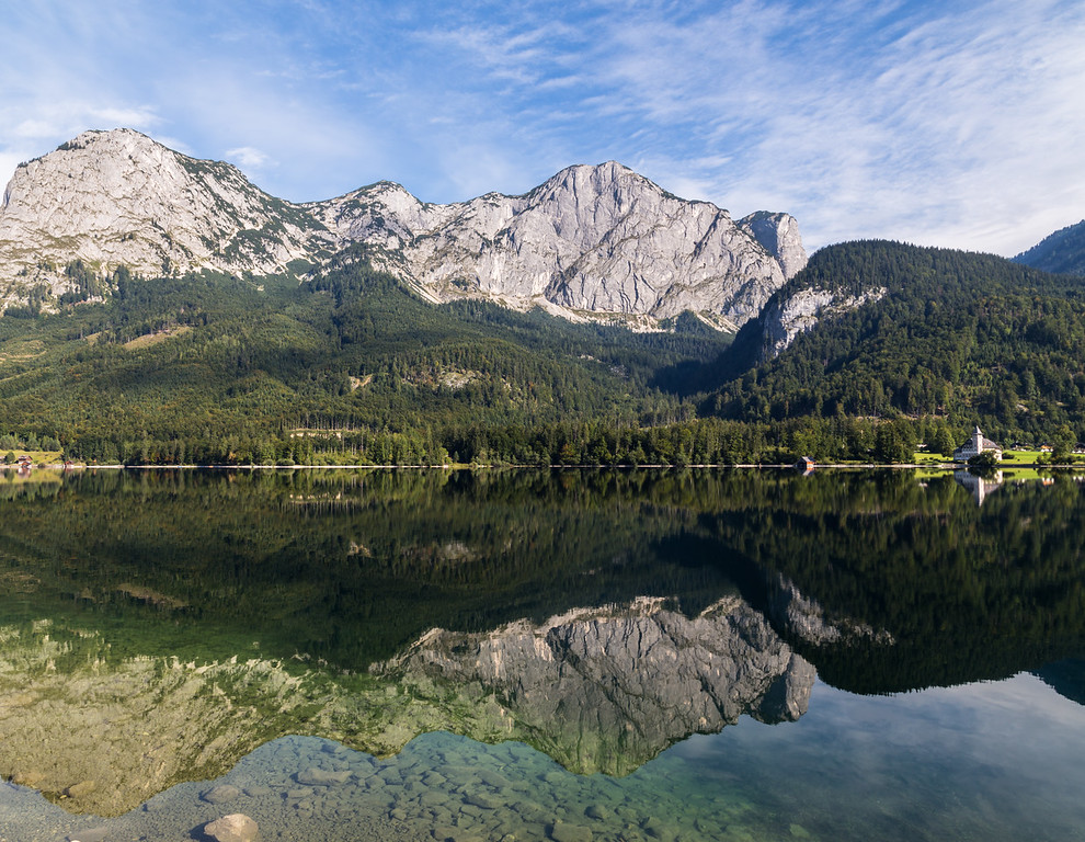 Mountains of Grundlsee in Austria