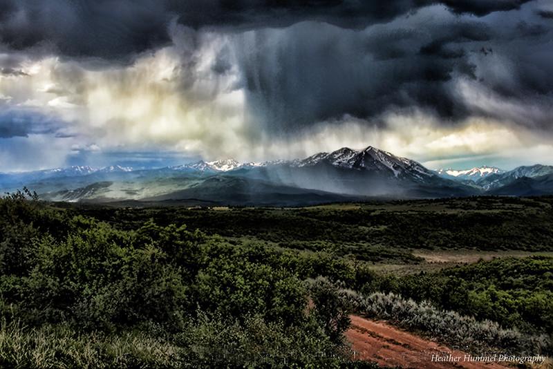 Mt. Sopris Thunderstorm