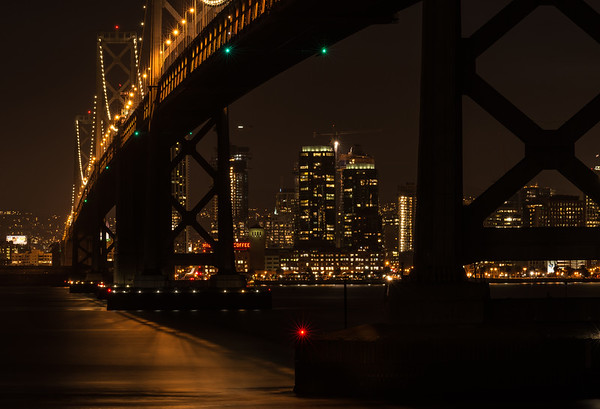 Under the Bay Bridge, San Francisco, CA