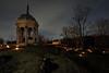 Antietam Memorial Illumination 176.7s, at f/8 || E.Comp:0 || 18mm || WB: AUTO 0. || ISO: 200 || Tone:  || Sharp:  || Camera: NIKON D700on: 2014:12:13 18:25:06