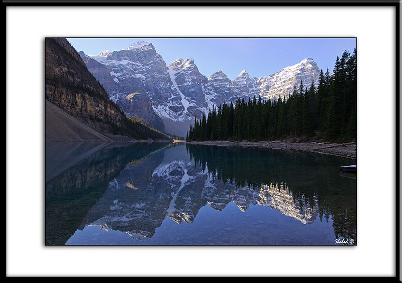 "Ref #5795-N Moraine Lake.<span id=""caption""><div class=""photocredit"">photo © LenScape Photography</div></span>"