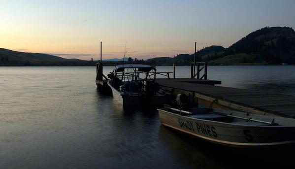 Dawn on the Lake