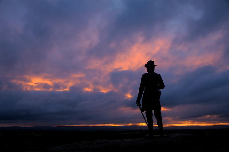 Clearing Storm - Brigadier General Gouvernor Kemble Warren - Little Round Top