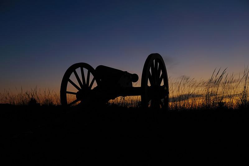 Dow's Battery<br /> First Volunteer Artillery Brigade, 6th Maine Battery F<br /> Hancock Avenue