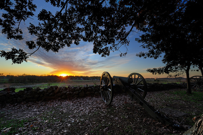 The Norfolk Light Artillery Blues<br /> Army of Northern Virginia, Hill's Corps Heth's Division, Garnett's Battalion Grandy's Battery<br /> Confederate Avenue