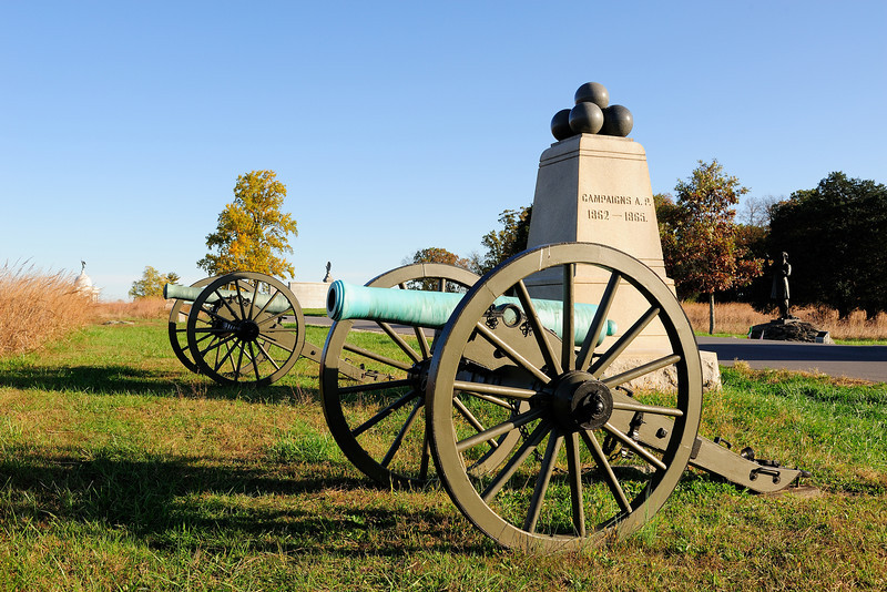 Dow's Battery<br /> First Volunteer Artillery Brigade, 6th Maine Battery F<br /> Hancock Avenue