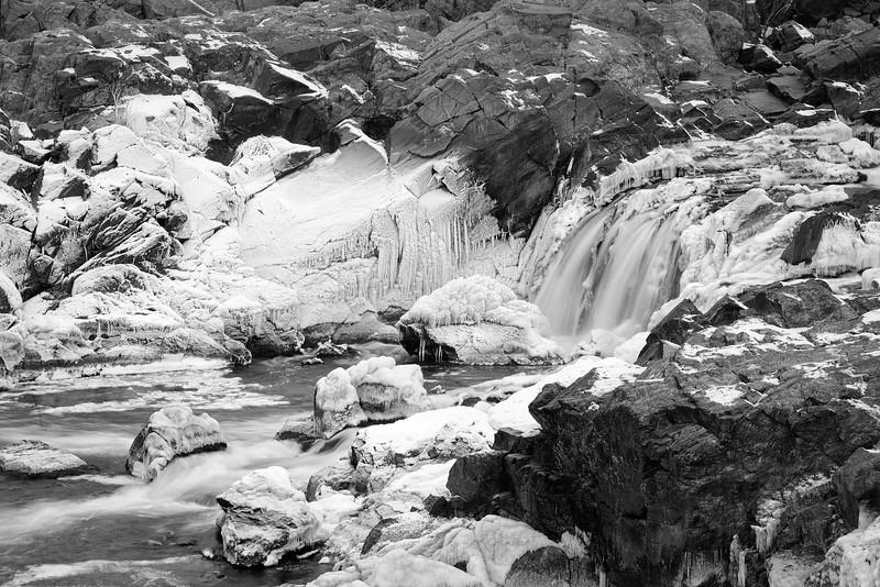 Great Falls Park 1/ 3s, at f/19 || E.Comp:-1 / 6 || 130mm || WB: AUTO 0. || ISO: 0 || Tone:  || Sharp:  || Camera: NIKON D700on: 2015:02:16 08:59:03