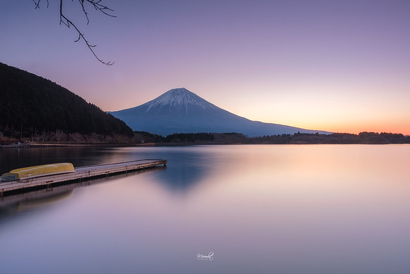 Morning Tranquil with Fujisan