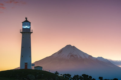 Mount Taranaki & The Lighthouse