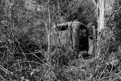 The old truck in Lost Cove