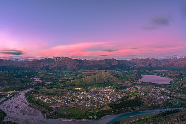 Dusk of Queenstown