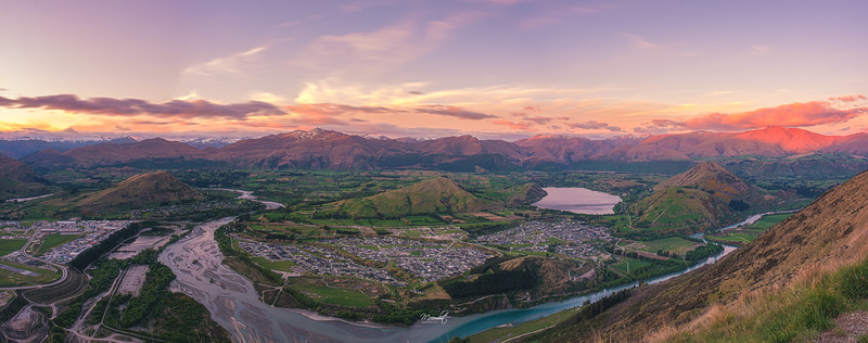 Pano View of Queenstown