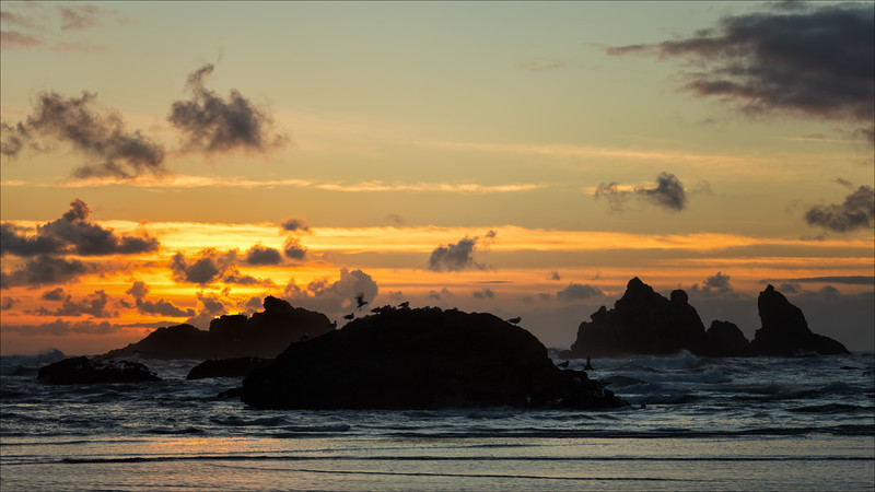 Sunset at Bandon