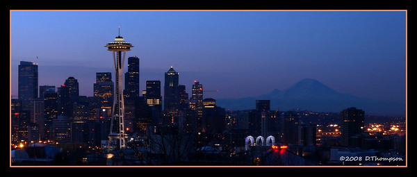 From Kerry Park the other morning...  this one turned out to be my favorite.