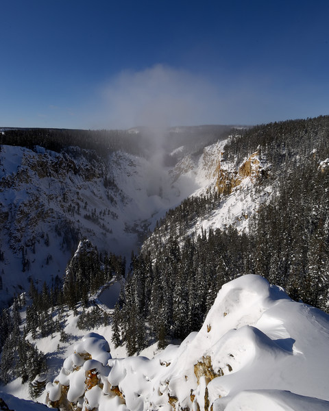 The Grand Canyon of the Yellowstone, Lookout Point
