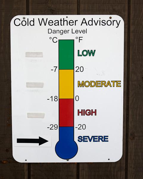 Weather Forecast, Canyon Village Ranger Station