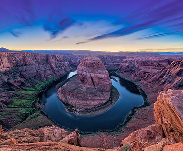 Horseshoe Bend in Arizona