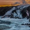 Ocean Entry Sunset