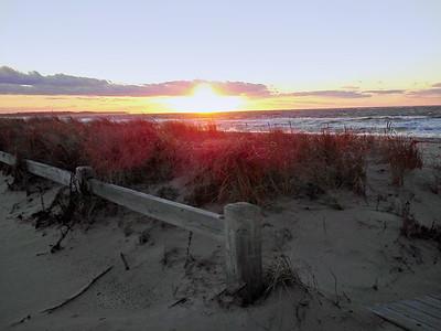 Sunset at McCabe's  Beach, Southold, NY
