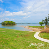 Lake Sidney Lanier reservoir in the northern portion Georgia - USA