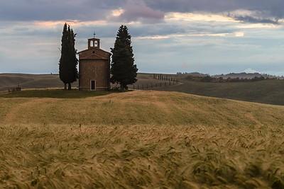 Vitaleta Chapel | Val D'Orcia