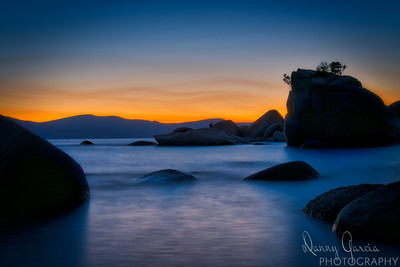 Bonsai Rock at Lake Tahoe, Nevada