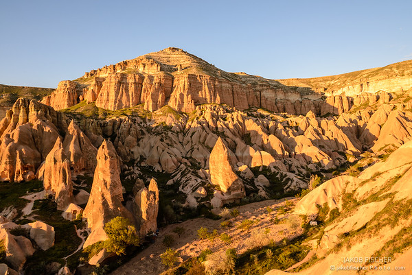 Rose valley, Cappadocia (Turkey)