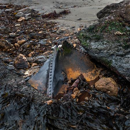 Section A - Print - Highly Commended - Landslide Debris by Susan Hendrick