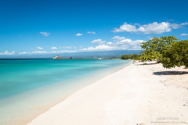 "picturesque Beach of ""Bahia de las Aguilas"""