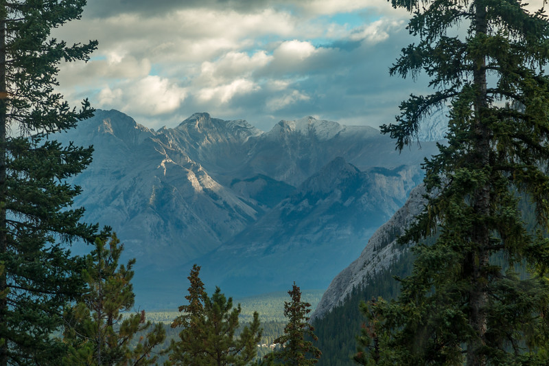 Mt Peechee Banff, Canada
