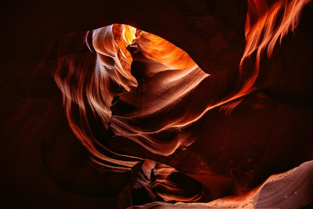 Antelope Canyon Heart