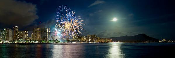 Waikiki Firework