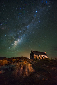 The Church and Stars | New Zealand