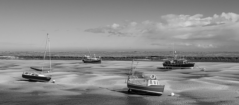 Section A - Print - Highly Commended - Waiting for the Tide by Alison Webber