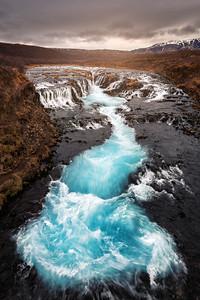 The Bruarfoss Splash | Iceland