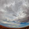 Cyclonic effect over Grand Canyon - Arizona-Phoenix, USA