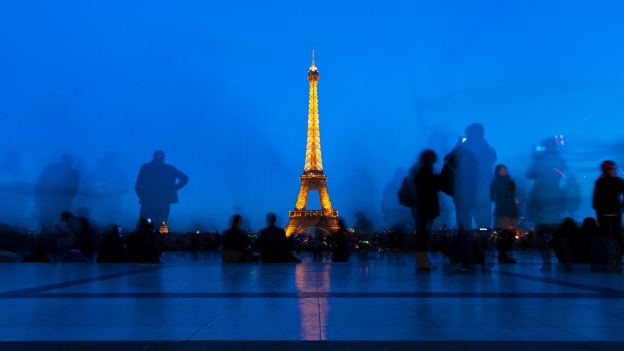 La Blue Eiffel