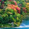 Fall color at Canada side taken from Niagara Falls national Park - USA