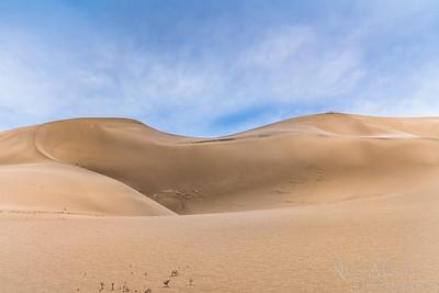 Eureka Sand Dunes in Death Valley