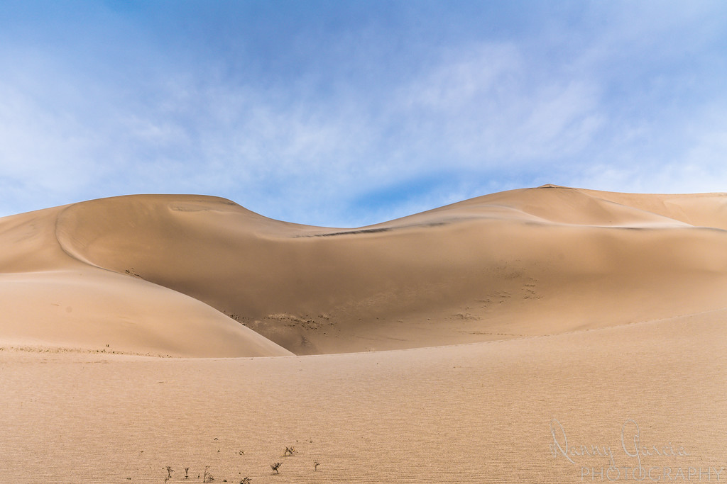Eureka Sand Dunes in Death Valley