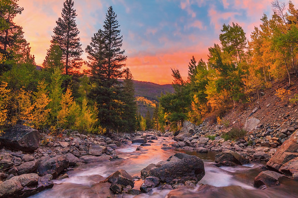 Ten Mile Creek Sunset