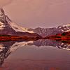 Matterhorn on Lake Riffelsee